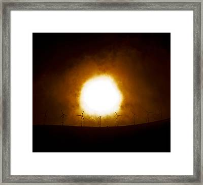 Last Chance Framed Print by Christopher Lugenbeal