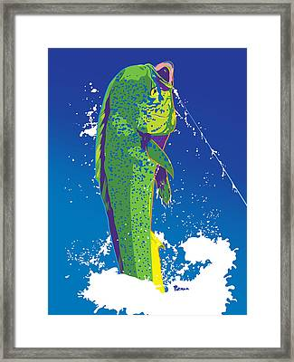 Last Chance Framed Print by Kevin Putman