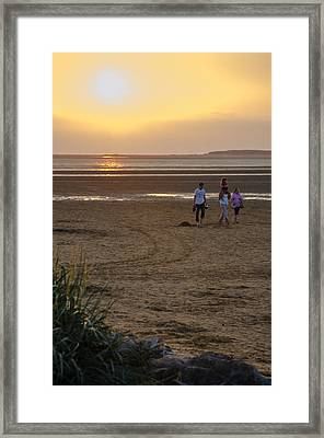 Last Colourful Days Of Summer Framed Print