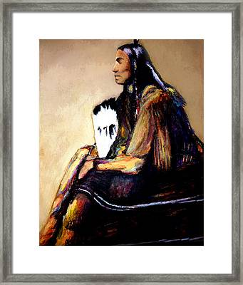 Last Comanche Chief Framed Print