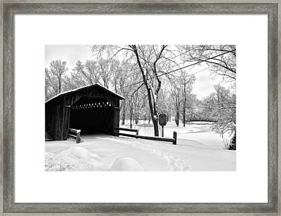 Last Covered Bridge Framed Print