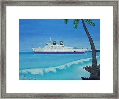 Last Cruise Framed Print