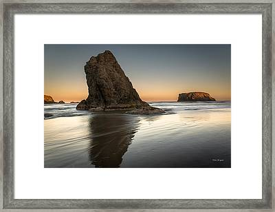 Last Day At Bandon Framed Print