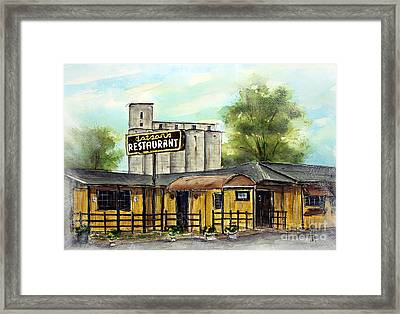 Last Day At Dotson's Framed Print by Tim Ross