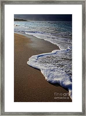 Last Day In Paradise Framed Print by Edward Fielding
