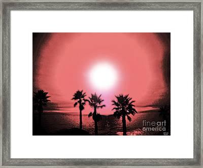 Last Day Of Summer... Framed Print by Belinda Staubs