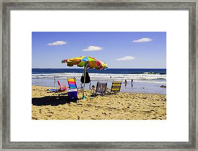 Last Days Of Summer Framed Print by Madeline Ellis