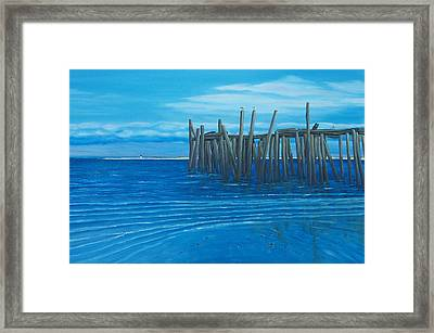 Last Days Of The Old Reliable Framed Print