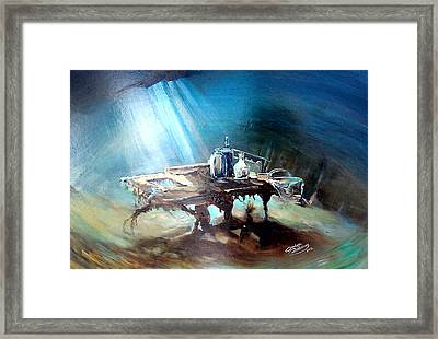 Last Dish Of The Ocean Framed Print