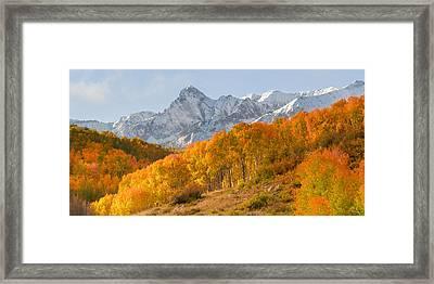 Last Dollar Road Panorama Framed Print