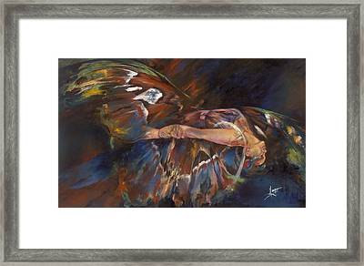 Last Flight Framed Print by Karina Llergo