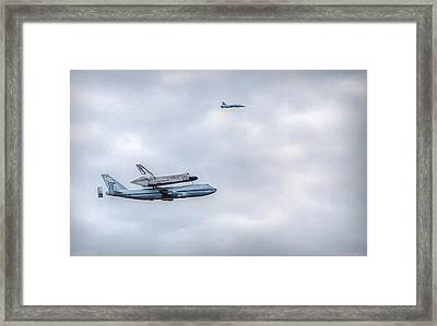 Framed Print featuring the photograph Last Flight by Michael Donahue