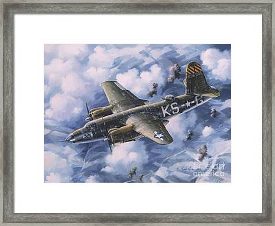 Last Flight Of The Shirley D Framed Print by Randy Green