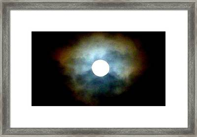 Last Full Cold Moon December 2012 Framed Print by Susan Garren