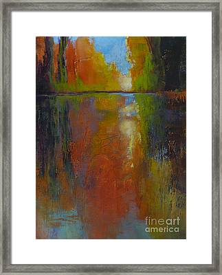Last Glimpse 2 Framed Print by Melody Cleary