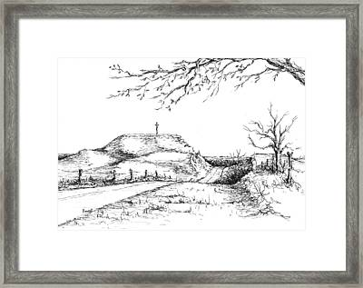 Last Hill Home Framed Print