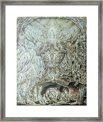 Last Judgement Wc Framed Print