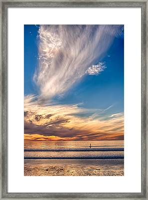 Last Licks Framed Print