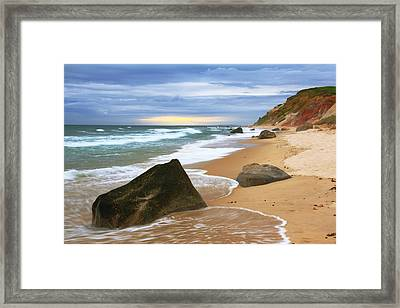 Last Light Before The Storm Framed Print