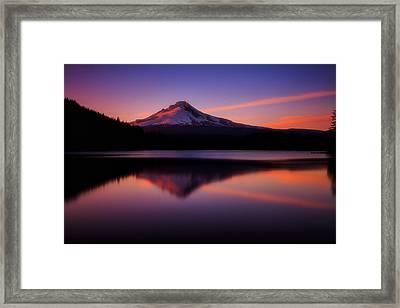 Last Light Framed Print by Darren  White