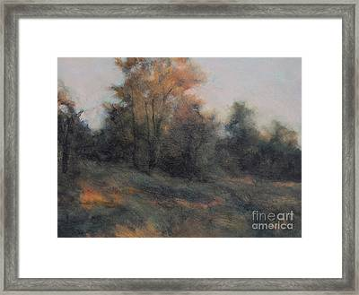 Last Light Framed Print by Gregory Arnett