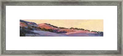 Last Light - Jalama Road Framed Print