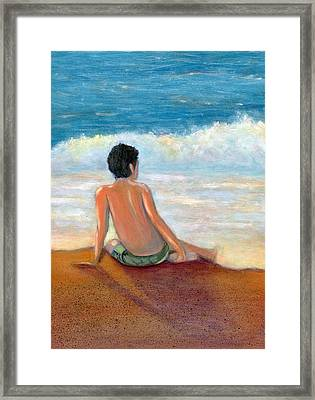 Last Light Framed Print by Karyn Robinson