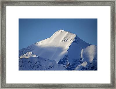 Framed Print featuring the photograph Last Light Of The Day by Jack Bell