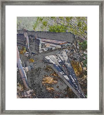 Last Load Framed Print