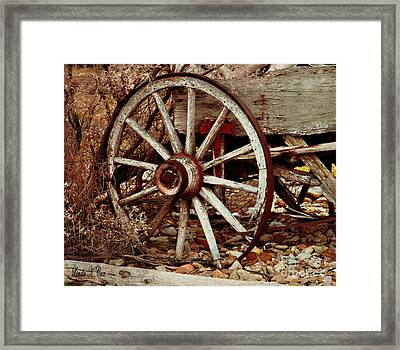 Last Load Framed Print