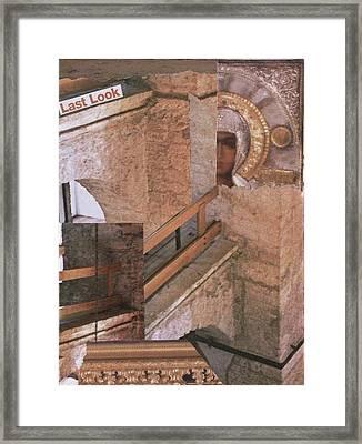 Last Look Framed Print by Matthew Hoffman