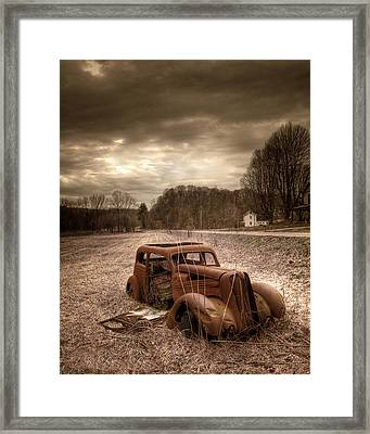Last Mile Framed Print