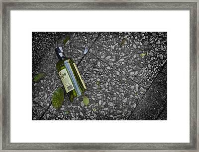 Last Night Story Framed Print by Pablo Lopez