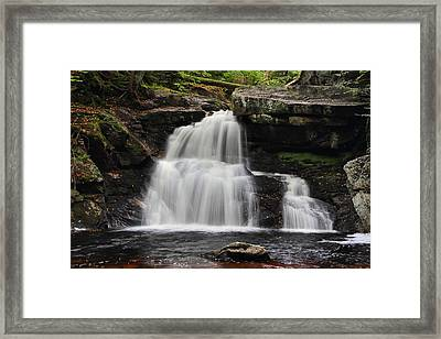Last Of The Line Framed Print by Mike Farslow