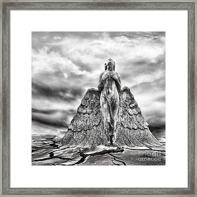 Last Prayer Framed Print by Jacky Gerritsen