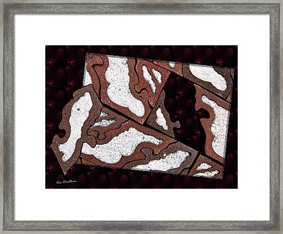 Last Puzzle Piece Framed Print