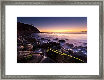Framed Print featuring the photograph Last Ray by Mihai Andritoiu