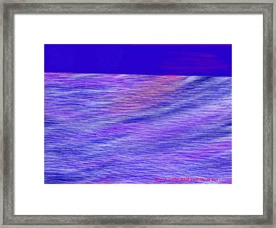 Last Ray Of Sun Framed Print