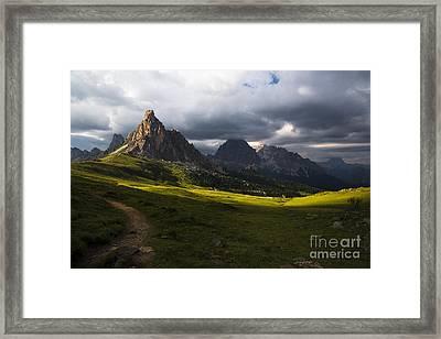 Last Rays Framed Print by Yuri Santin
