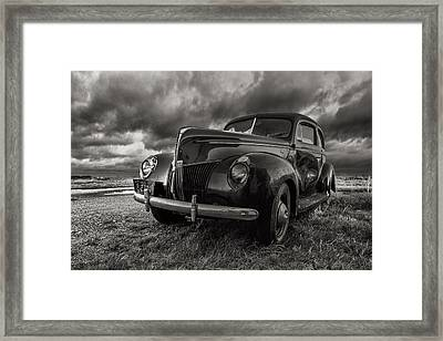 Last Ride  Framed Print by Aaron J Groen