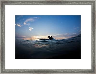 Last Ride Before Dark Framed Print by Kyle Morris