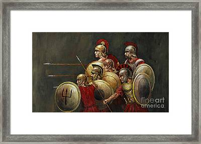 Last Stand Framed Print by Arturas Slapsys