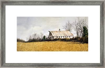 Last Stand Framed Print by Tom Wooldridge