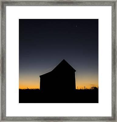 Last Star Framed Print by Amber Kresge