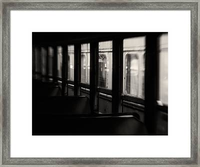 Last Stop Framed Print by Amy Weiss