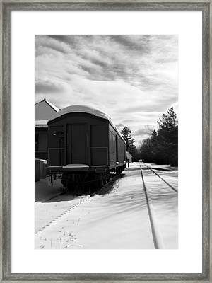 Last Stop Framed Print by Peter Chilelli
