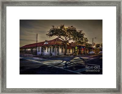 Last Stop Tarpon Springs Framed Print
