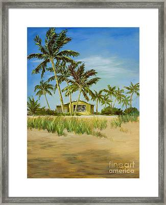 Framed Print featuring the painting Last Sugar Shack by Vic  Mastis
