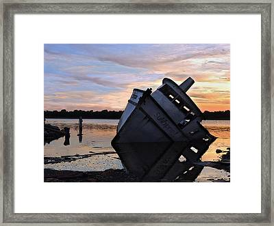 Framed Print featuring the photograph Last Resting Place by Laura Ragland