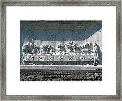 Last Supper Framed Print by Greg Patzer